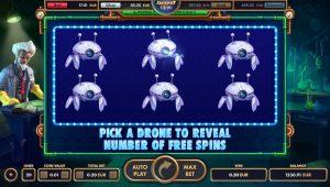 Pick'em Bonus - reveal Free Spins
