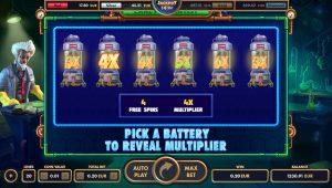 Pick'em Bonus - reveal Multiplier