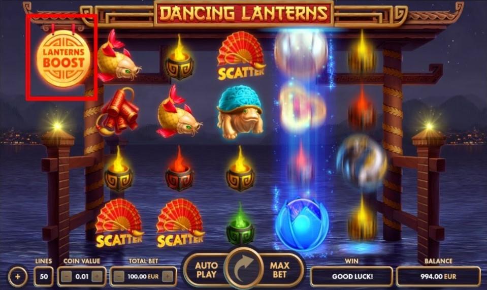 Dancing Lanterns Boost