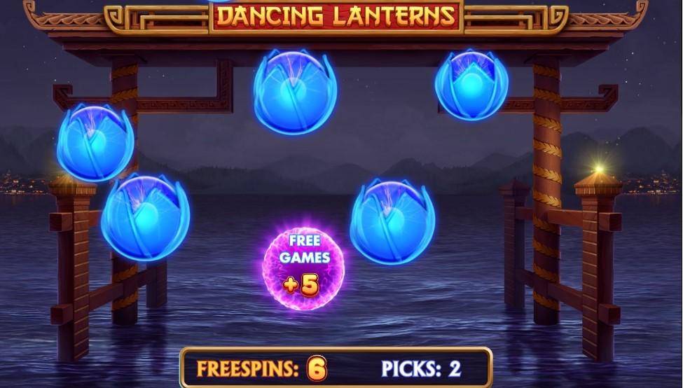 Dancing Lanterns Free Spins